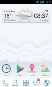 Simple Life GO Launcher Theme v1.0