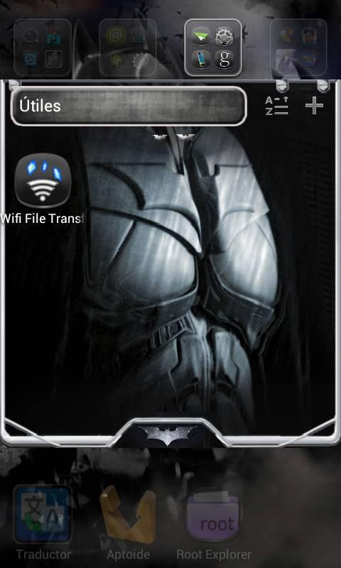 BatmanRise Go Launcher Theme