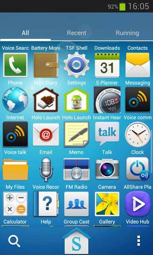 Galaxy S4 HD Multi Launcher Theme