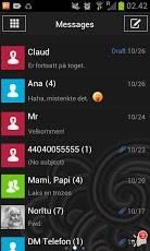 GO SMS Windows 8 Blue Theme