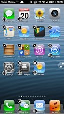 iPhone 5 Launcher Android App