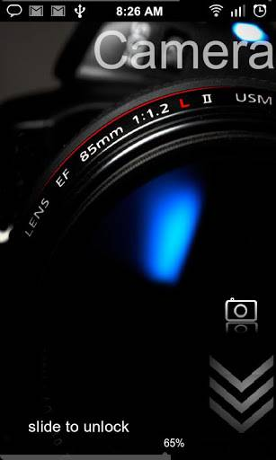 Windows Blue 8 HD Lockscreen v4