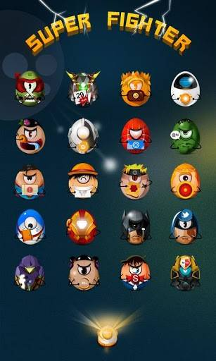 SuperFighter GO Launcher Theme
