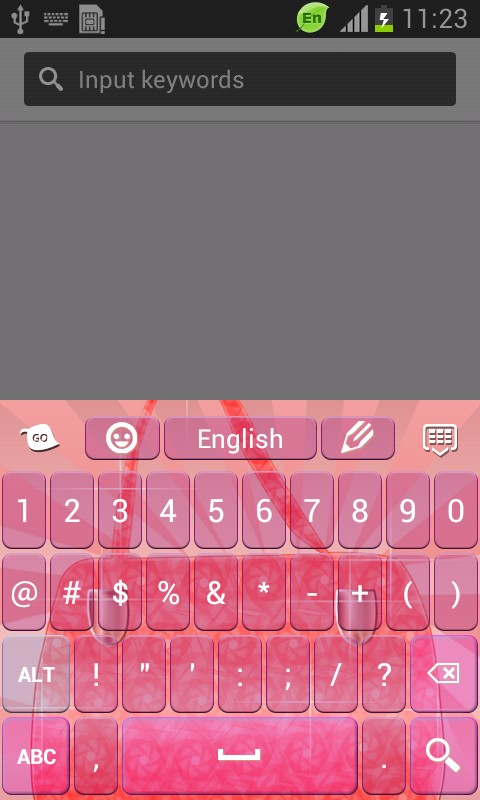 Pink Purse Keyboard