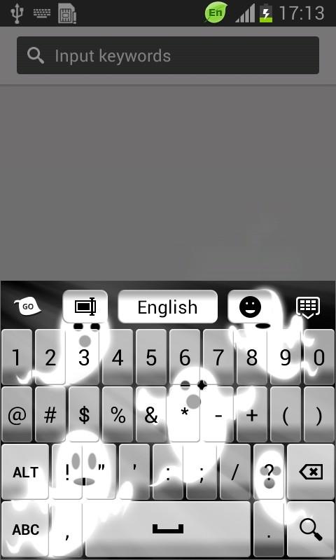Ghosts Keyboard
