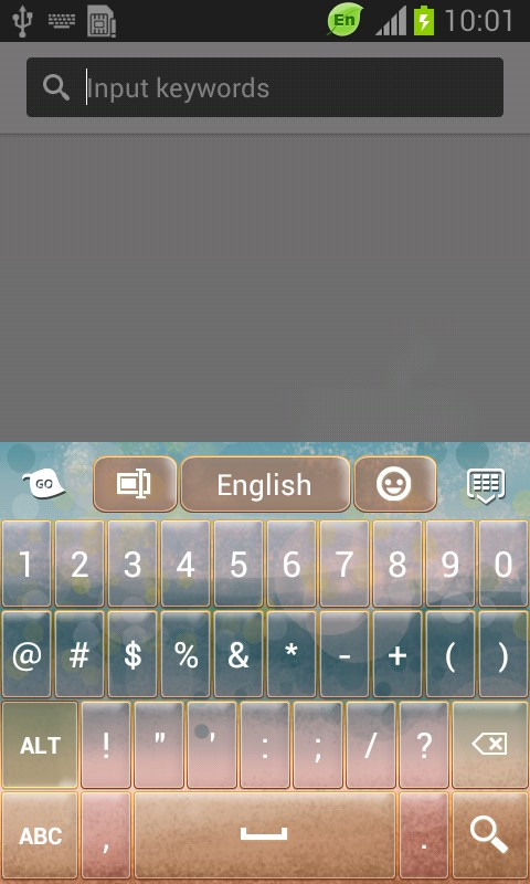 Hazy Sea Keyboard