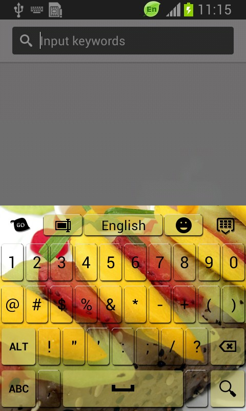 Fruit Sushi Keyboard