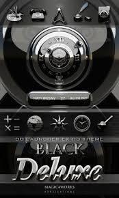 3D Black Luxury Go Theme