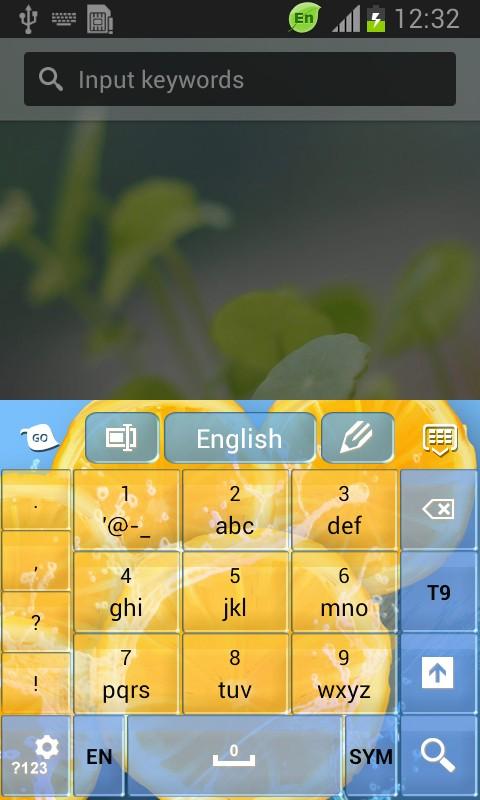 Refreshing Keyboard-release