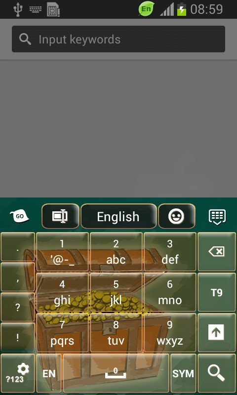 Treasure Keyboard