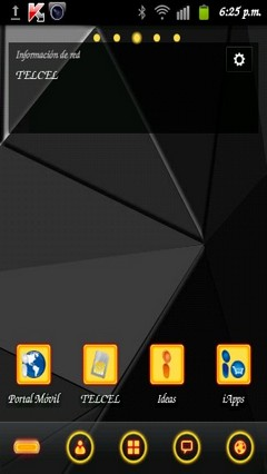 GO Launcher EX Theme Anthracite