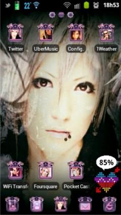 Mikaru?Sono GO Launcher Theme