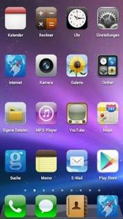 iOS 5 GO Launcher Theme v1.0