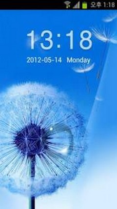Galaxy S3 Pebbles Blue Theme v1.0
