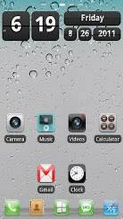 iPhone HD Theme