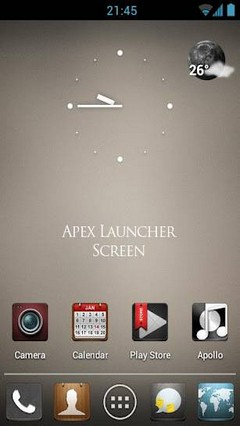 Idear GO Launcher / Apex Theme v3.1