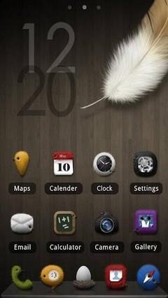 Fuzzy Birdy GO Launcher Theme 1.0