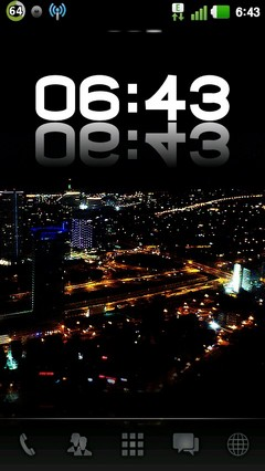 City Nights GO Launcher Theme