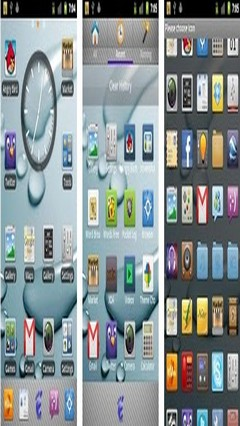 aPhone Theme GoLauncher