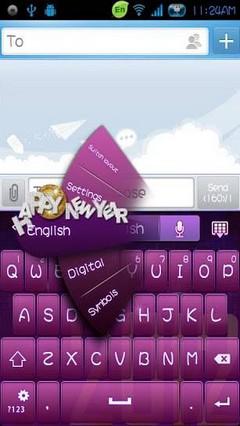 go keyboard happy 2012 theme