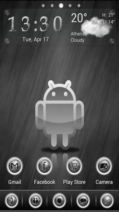 GO launcher SilverBall theme
