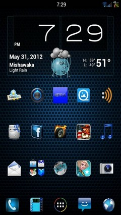Mixer Theme v1,8 ICS/JB-HDPI