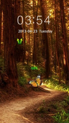 BUTTERFLY GO LOCKER THEME