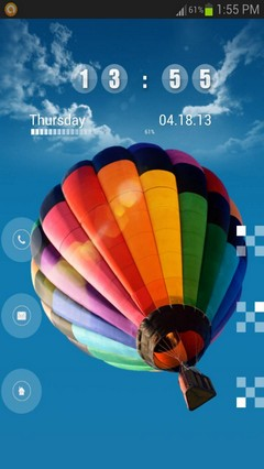 Galaxy S4 Balloon GoLocker Theme