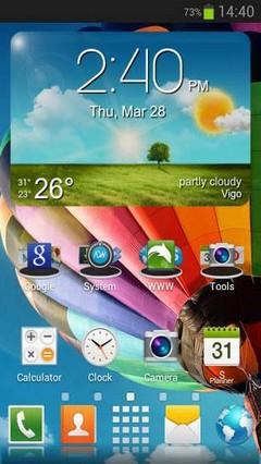 Galaxy S4 HD Multi Launcher Theme v2.3
