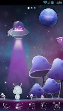 Acid Planet Super Theme GO