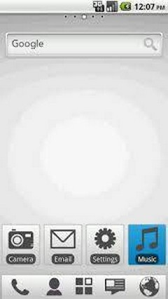 Pearly White TW- Free Android ADW Launcher Theme