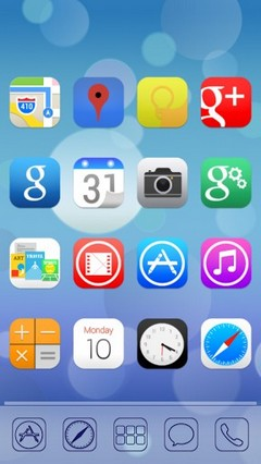 Ultimate iOS7 Apex Nova Theme v1.45 download