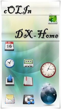 DX hOme GOLauncherEX Theme