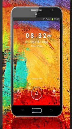 Galaxy Note 3 Lock Screen