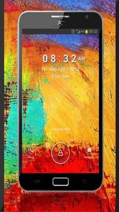 Galaxy Note 3 Lock Screen