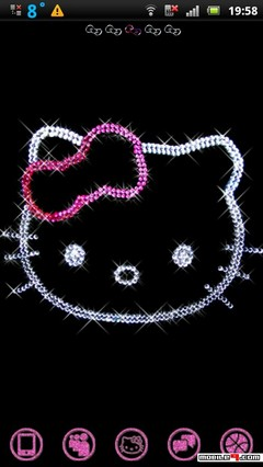 Glitter Kitty Theme