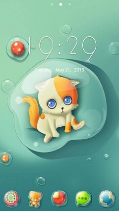 Droplet GO Launcher Theme