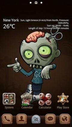 Zombie GO Launcher Theme