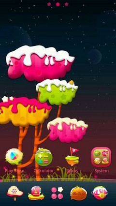 Creamland GO Launcher Theme