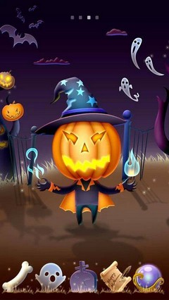 Pumpkinhead GO Launcher Theme