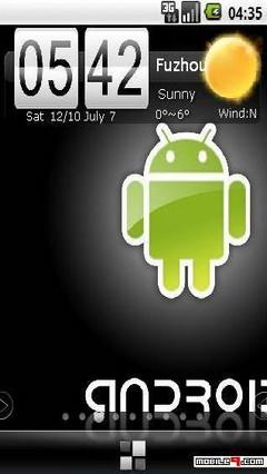 Android pandahome theme