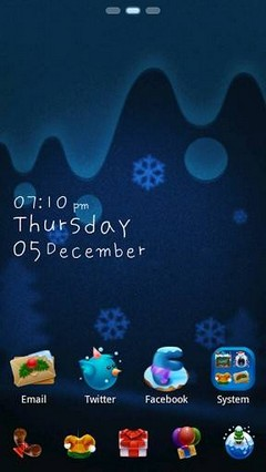 Happy 2014 GO Launcher Theme