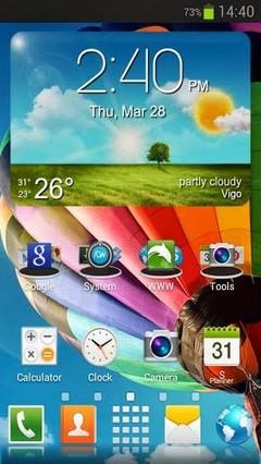 Galaxy S4 HD tema