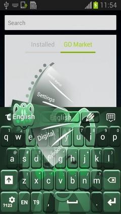 Amulet Keyboard-release