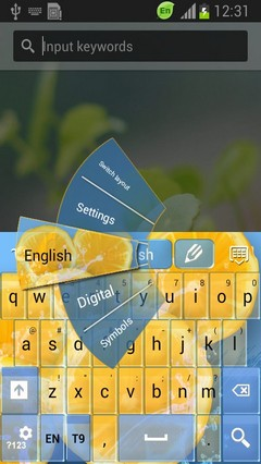 Refreshing Keyboard-release