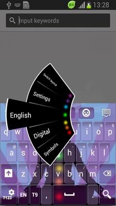 Chakra Keyboard
