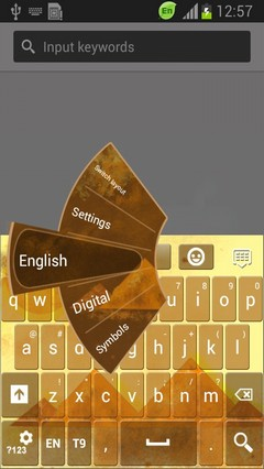 Egyptian Pyramid Keyboard