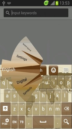 Navigation Keyboard Free