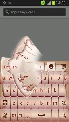 Cute Vintage Keyboard