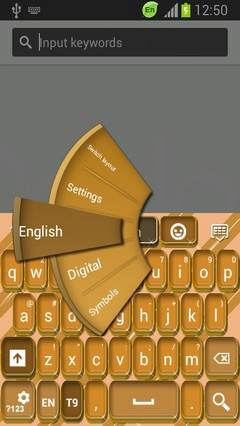 Golden Coins Keyboard